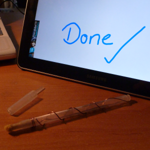How To Build Your Own Tablet Stylus