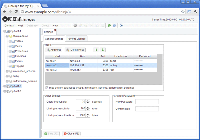 access servers remotely