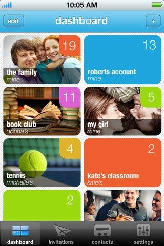 share information iphone