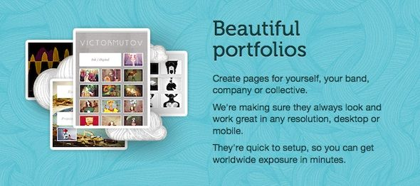 Dropr Portfolios   Dropr: Create Beautiful Multimedia Portfolios For Free