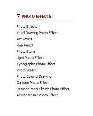 photo text effects online