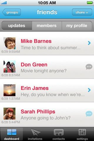 Friends   Deets: Selectively Share Info with Your Contacts Through Your iPhone