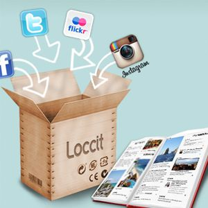 Mix Your Diary Or Journal With Your Social Network Activity Using Loccit