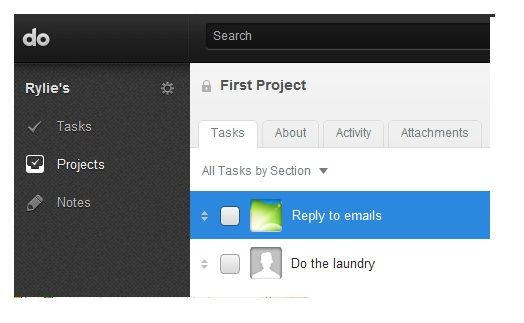 task lists for projects