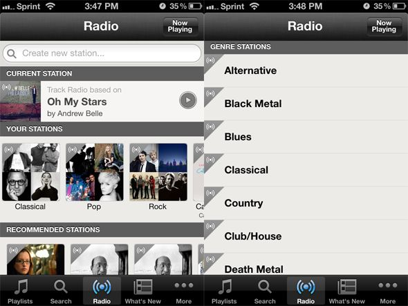 listen to music on iphone free