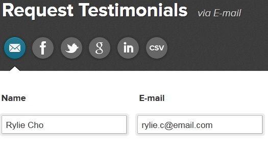 manage testimonials