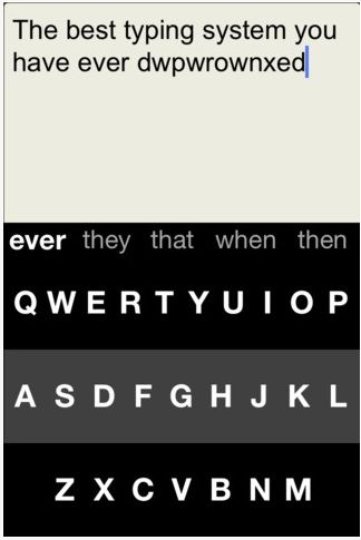 predictive text app for iphone