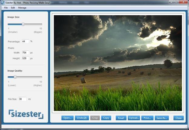 resize images desktop