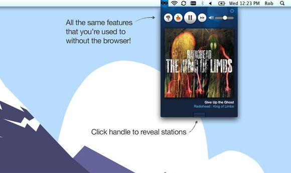 personalized internet radio stations