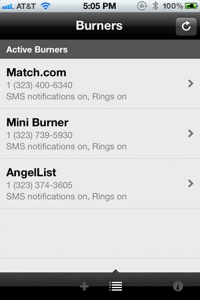 burner   Burner: Protect Yourself With Disposable Phone Numbers [iOS]