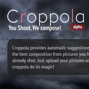 Croppola Automatically Crops Your Images To Create The Best Composition