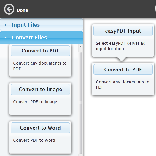 converting documents to pdf word & image format