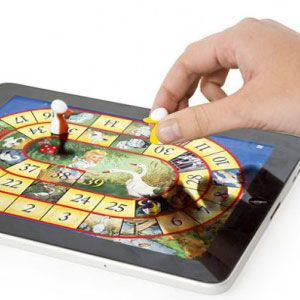 Ways Technology Is Enhancing Not Replacing Traditional Board Games - Digital board game table
