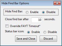hide the finder bar