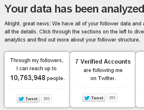 fruji2   Fruji: Complete Analytics Of Your Twitter Followers