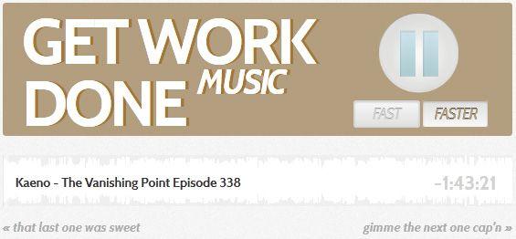 music get work done