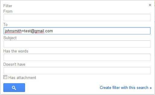 gmail alias tips