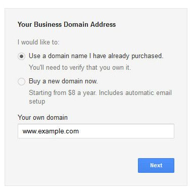 how to buy domain from google