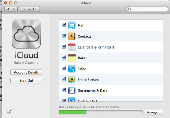 share documents on icloud