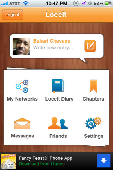 social network diary