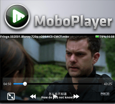 alternative video player for android