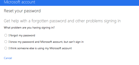 hotmail account blocked