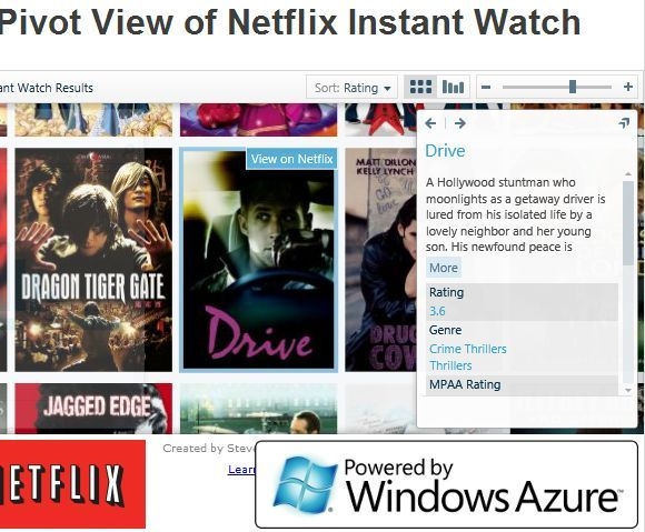 netflix movie search tool
