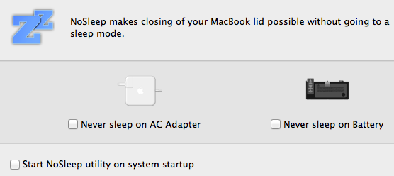 stop your mac from sleeping