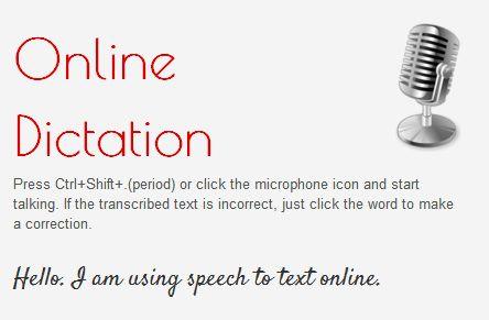 convert speech to text online