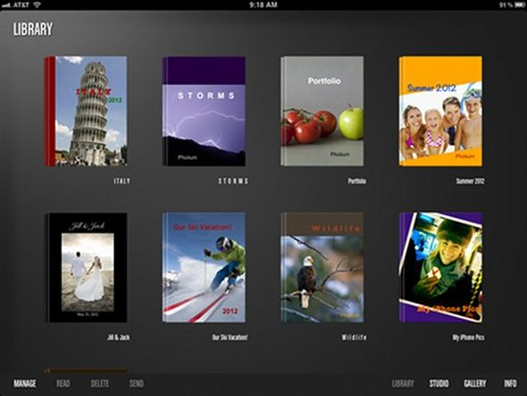 pholium   Pholium: Create Photo eBooks With Ease [iPad]