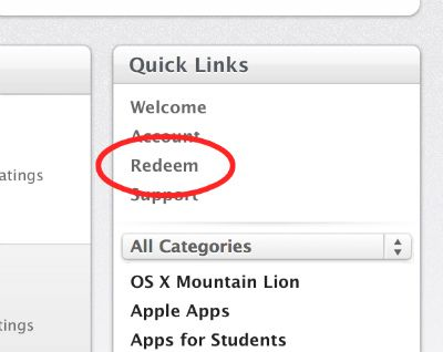 Bought A Mac Recently? Claim Your Free Upgrade To OS X Mountain Lion redeem code