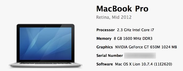 Bought A Mac Recently? Claim Your Free Upgrade To OS X Mountain Lion serialnumber