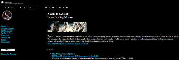 Learn About Neil Armstrong & The Apollo 11 Moon Landing On The Web smithsonian apollo 11