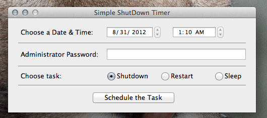 schedule sleep mac