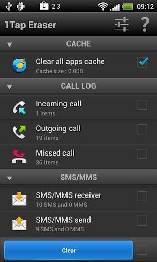 clean phone memory android