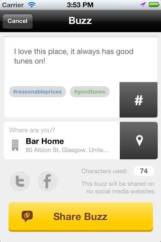 23   Swarmly: Finds The Hottest Places Near You In Real Time [iOS]