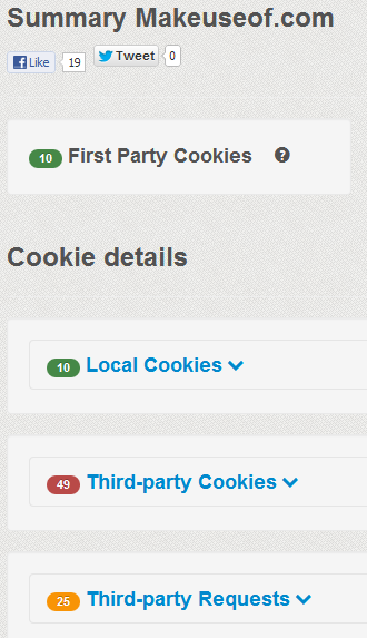 find out what cookies a site uses