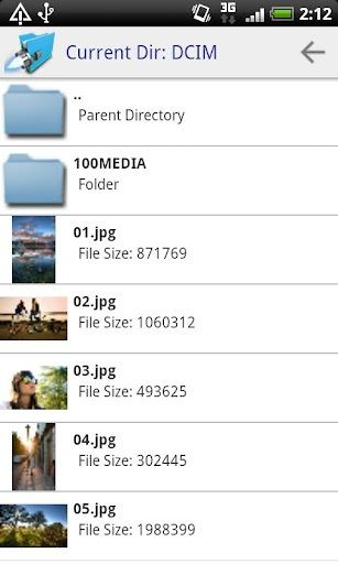 share files android