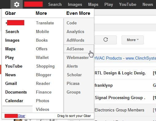 customize links on google