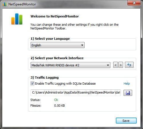 check download upload speed