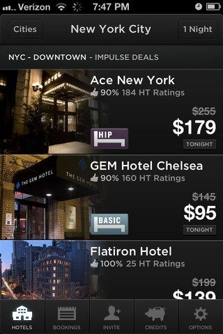 NewYork   Hotel Tonight: Find The Best Last Minute Deals On Hotels [iOS]