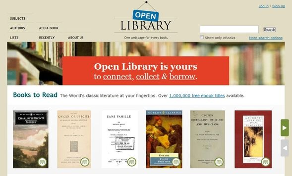 Where Can I Borrow eBooks From? Open Library 1