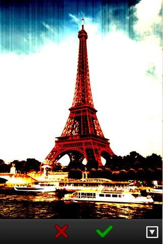 Paris   Meta: Apply Filters to Your Photos While You Are Taking Them [iOS]