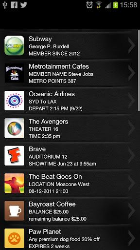 apple passbook android