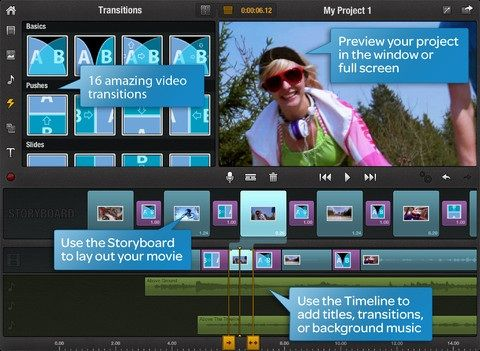 Pinnacle Studio: Quickly Create & Edit HD Videos on Your iPad (Free for a Limited Period) Preview