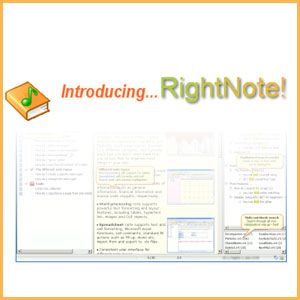 Organize All Your Information in One Place With the Easy-to-Use RightNote