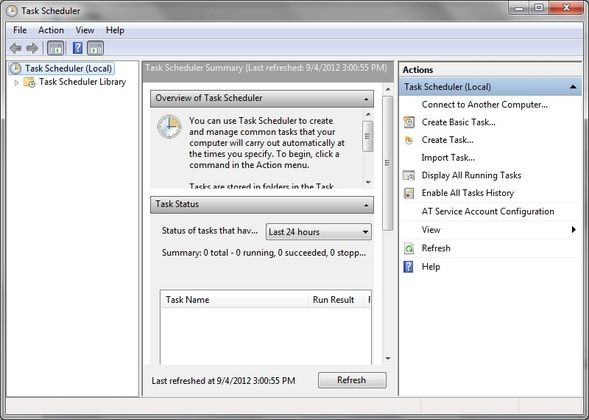 SyncToy: Microsoft's Simple Backup & Synchronization Solution [Windows] Task Scheduler