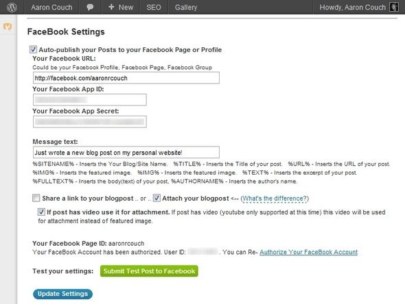 Distributing Your Blog Content: The Best Auto-Posting Services WordPress App Facebook