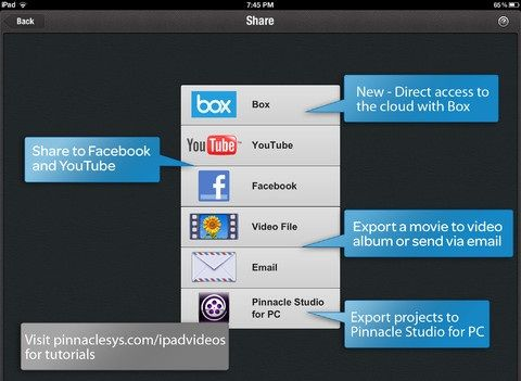 Youtube   Pinnacle Studio: Quickly Create & Edit HD Videos On Your iPad (Free For A Limited Period)
