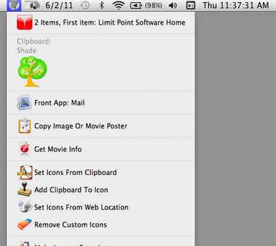 add context menu mac